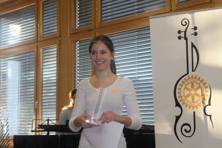 Siegerin Prix Rotary 2017